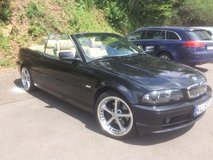 AUTOMATIC BMW 325 CI 2001 Convertible black EURO SPEC in Ramstein, Germany