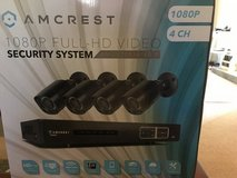 Amcrest Full-HD 1080P 4CH Video Security System in Lakenheath, UK