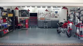 want to rent garage or space to restore motorcycles with my son in Stuttgart, GE