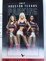 Red Parking Pass- Texans vs Patriots in Kingwood, Texas