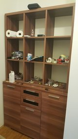 Storage or Book Shelves with Lower Cabinet in Ramstein, Germany
