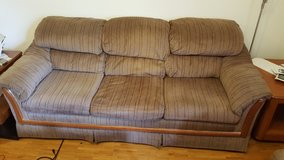 Couch and Love Seat -- Comfy in Ramstein, Germany