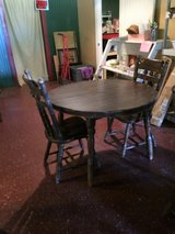 Wood Antique Kitchen Table For Two in Fort Polk, Louisiana