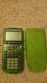 TI 83 Lime Green Calculater in Naperville, Illinois