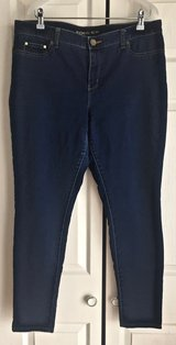 Women' MICHAEL KORS Blue Denim Skinny Jeans. Size 14. in Okinawa, Japan
