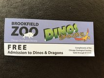 Brookfield Zoo Dinos & Dragons Ticket in Chicago, Illinois