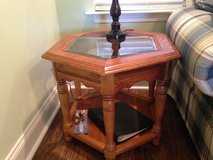 End Table with glass insert in Perry, Georgia