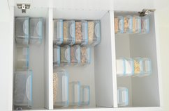 Set of fresh cans Box canister with lid Set of 24, transparent in Stuttgart, GE