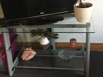 Glass TV stand in Ramstein, Germany