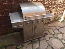 Stainless gas grill in Ramstein, Germany