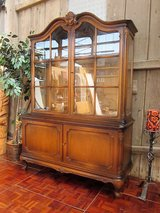 Mohogany Chippendale China Cabinet in Ramstein, Germany