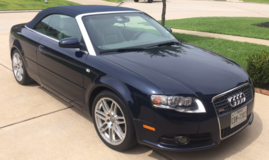 AUDI A4 2.0T 2009  SPECIAL EDITION CABRIOLET 2D - updated in The Woodlands, Texas