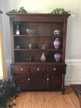 Wood China Cabinet in Fort Lee, Virginia