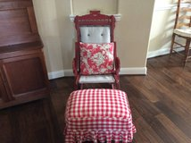 East Lake Chair and Footstool in Kingwood, Texas