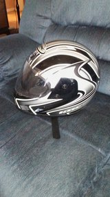 LIKE NEW child size motorcycle helmet in Barstow, California
