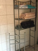 Towel Shelf and hanger in Ramstein, Germany