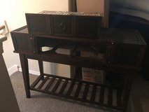 Sofa table (long for behind couch) in Conroe, Texas