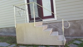 Fiberglass House Steps in Ruidoso, New Mexico