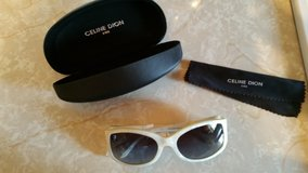 Celine Dion Sun Glasses with Hard Case and Cleaning Cloth in Byron, Georgia