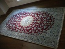 authentic persian rug 'Nain' in Vicenza, Italy