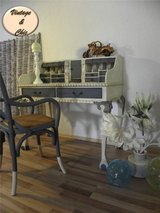 MAGNIFICENT SECRETER WITH CHAIR SHABBY CHIC in Ramstein, Germany