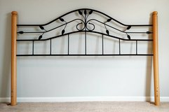 SYCAMORE ARCHED METAL KING HEADBOARD in Naperville, Illinois
