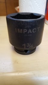 "Armstrong 1 3/4"" Impact Drive Socket in Fairfield, California"