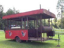 Barbecue Trailor in Kingwood, Texas