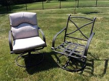 Patio chairs in Sugar Grove, Illinois