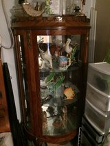 Antique 6' Tall Curio Cabinet I brought from Egypt in 2002 in Camp Lejeune, North Carolina