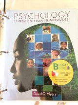 Psychology Tenth Edition in Modules in Naperville, Illinois