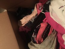 Clothes boxes in Fort Campbell, Kentucky