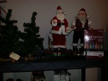 DECORATING TREES, DANCING SANTA(S), BOX OF LIGHTS AND HOHOHO VOTIVE HOLDER in Naperville, Illinois