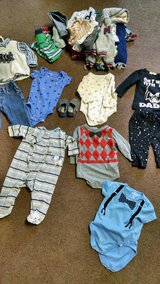 baby boy clothes lot size 9 months in Camp Lejeune, North Carolina