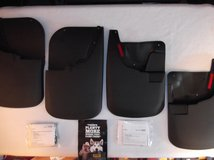 HUSKY Mud Guards Flaps for 11-16 FORD F250 F350 Super Duty, Front & Re in Columbus, Georgia