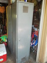 Two Industrial Metal Lockers in Orland Park, Illinois
