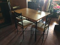 Kitchen Table and 4 Chairs in Fort Polk, Louisiana