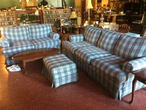 3 Piece Matching Living Room Set Couch , Loveseat and Ottoman (Hold Ms Shirley) in Fort Polk, Louisiana