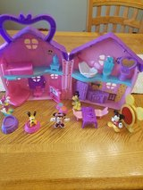 Mickey and Minnie doll house in Naperville, Illinois