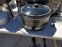 crockpots (and rice cooker) in Yucca Valley, California