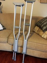 2 pairs of crutches in Kingwood, Texas