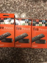 Fire Stick in Fort Sam Houston, Texas