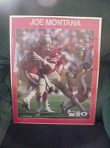 "Poster 49'ers Joe Montana 20""/16"" Starline Poster Framed Vintage in Lake Elsinore, California"