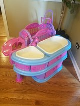 Electronic baby doll care station/nursery in Naperville, Illinois