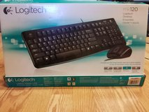 Logitech keyboard and mouse in Sandwich, Illinois