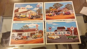 Set of 4 Stan Cline Auto Classic Lithographs 5x7 in 29 Palms, California