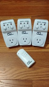 3 Wireless Electrical Switch Socket Outlets with 1 Remote in Cherry Point, North Carolina