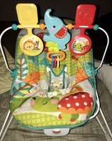 Fisher Price Animal Party Bouncer/Vibrating Chair in Tacoma, Washington