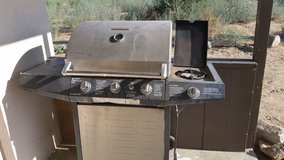 Barbecue grill in stove in Yucca Valley, California