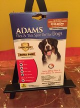 Adams Flea and Tick Spot On for Dogs 3 Month Refill (No Applicator) 81+Pounds in Chicago, Illinois